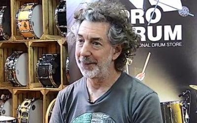 Simon Phillips Interview for BeatIt, Pt. 1