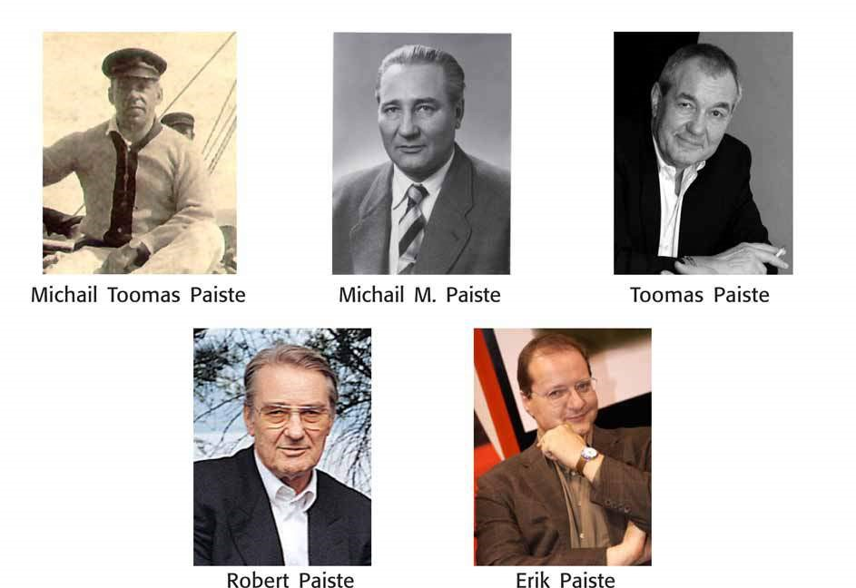 The owners of the Paiste company