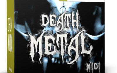Toontrack presents Death Metal MIDI Pack