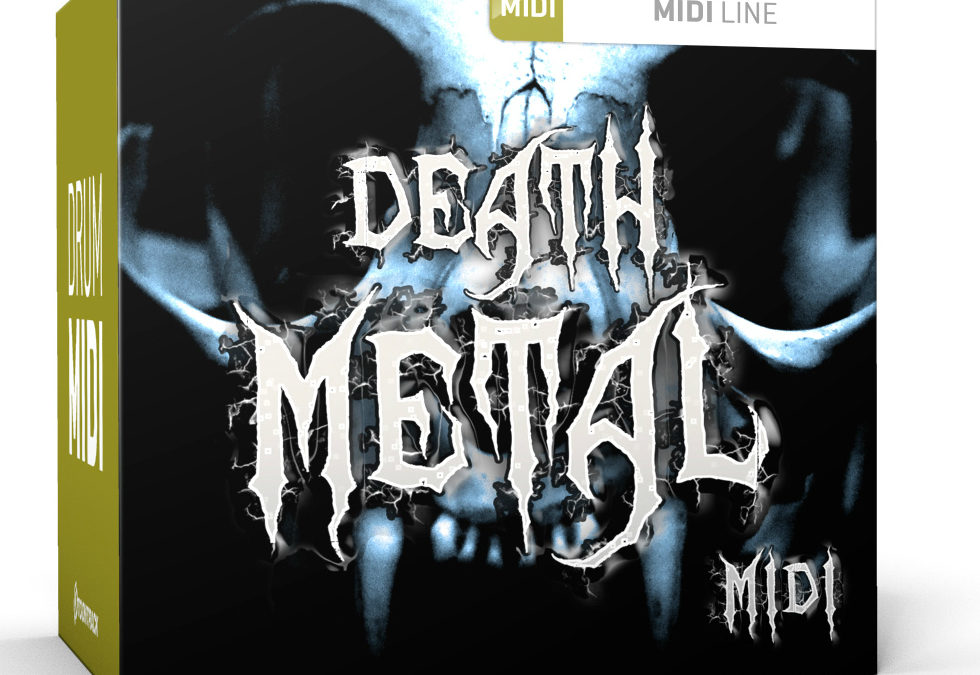 Toontrack presents Death Metal MIDI Pack