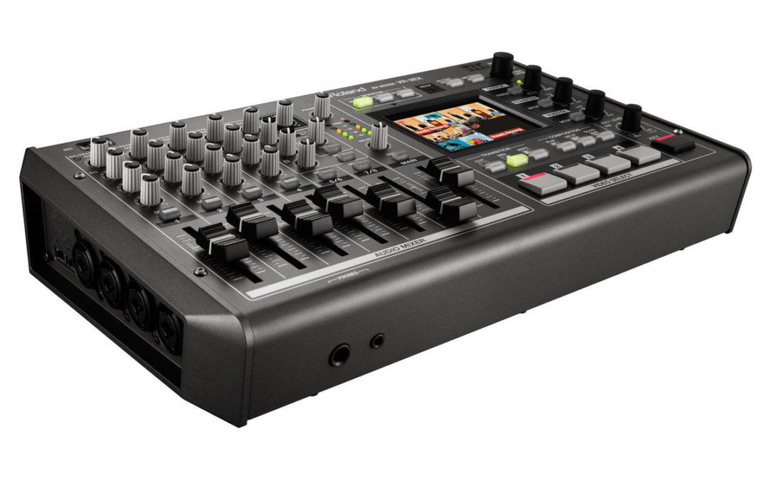 New Roland VR-3EX mixer