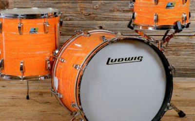 Ludwig Reissues the Mod Orange Finish