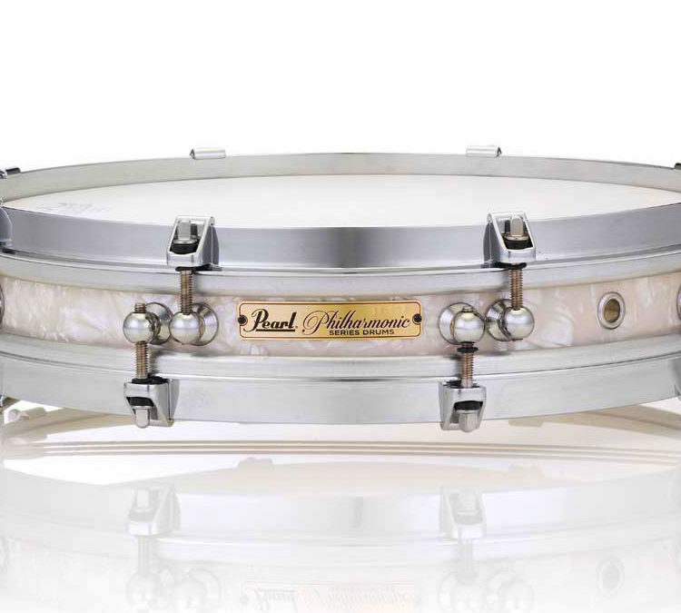 Pearl Announces Philharmonic Pancake Snare Drum