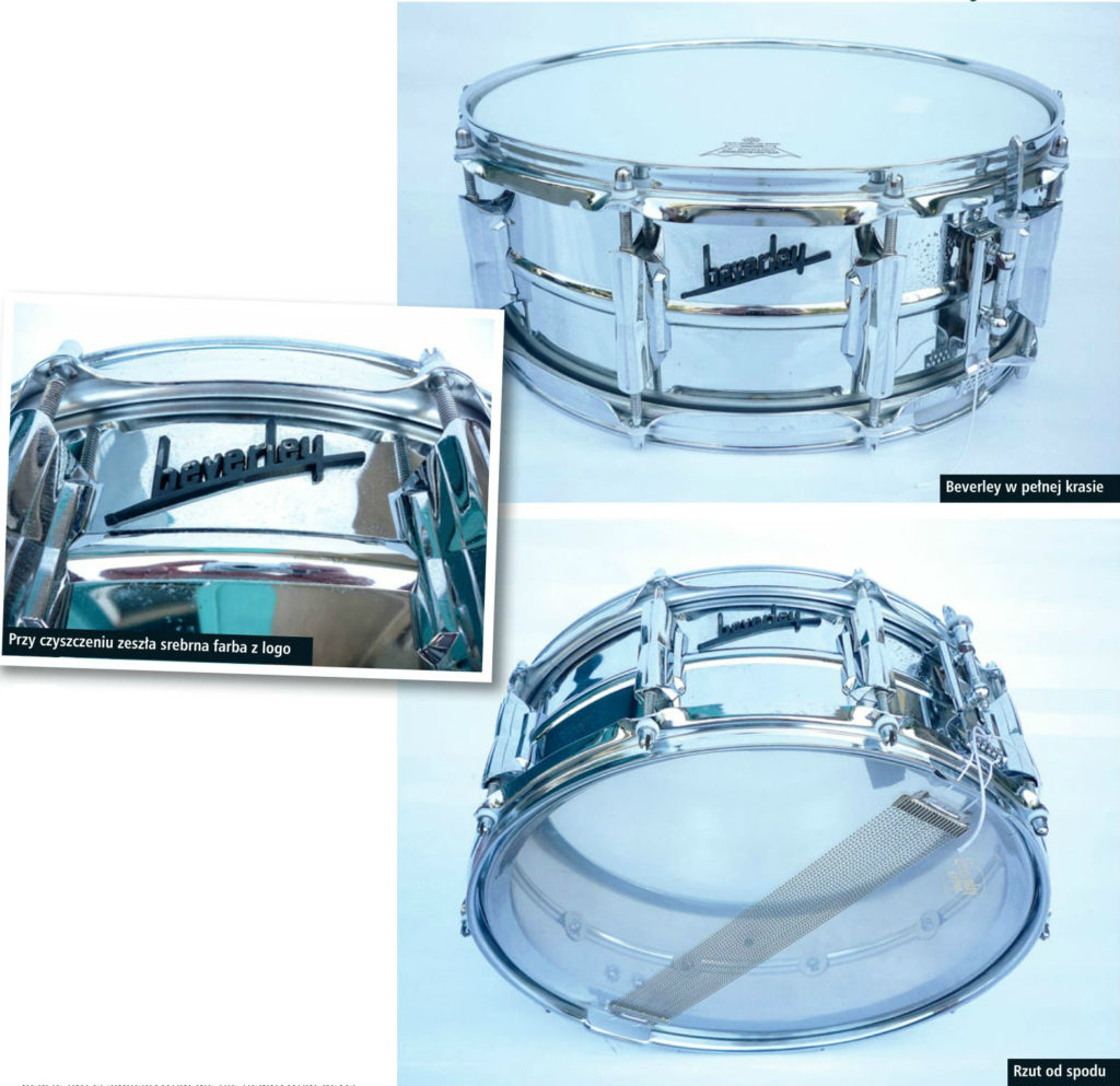 Beverley Cosmic 21 Snare Drum en.beatit.tv