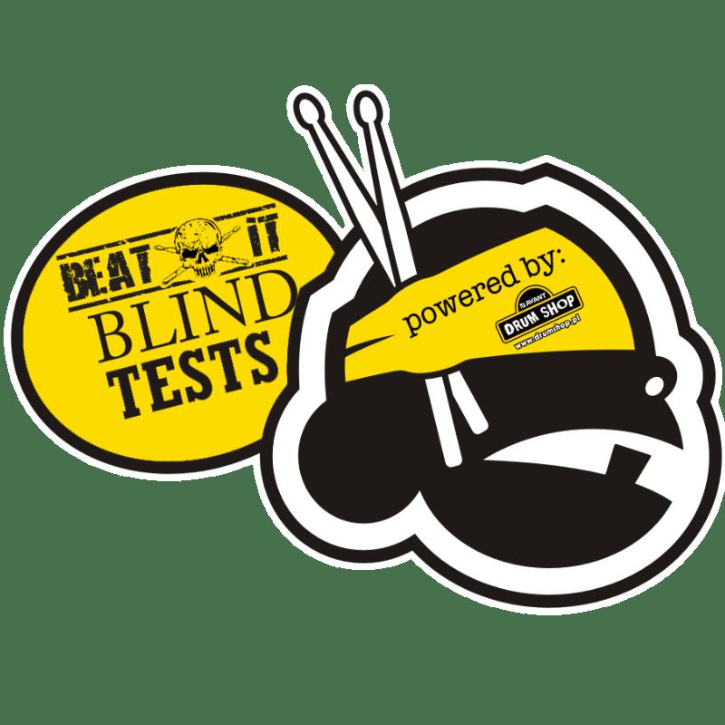 blind test quiz 12 14 single ply coated black dot drum heads. Black Bedroom Furniture Sets. Home Design Ideas