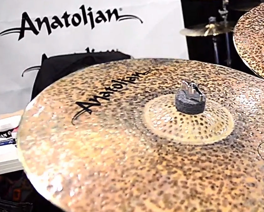 Anatolian Cymbals Booth at NAMM Show 2017