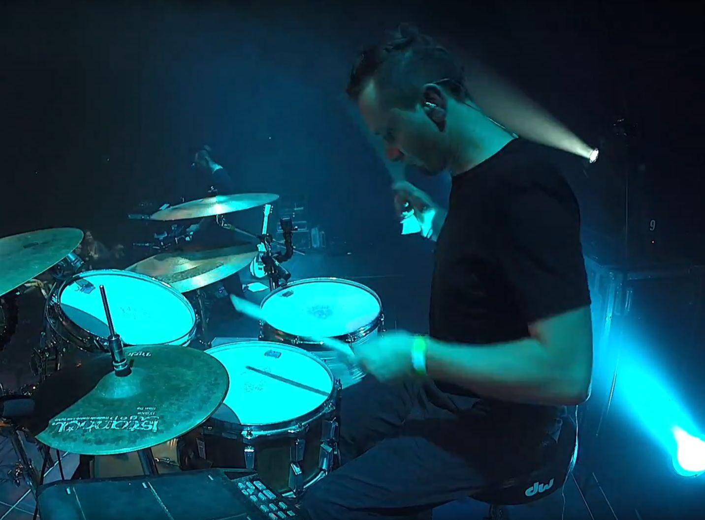 drummer Bolek Wilczek on en.beatit.tv
