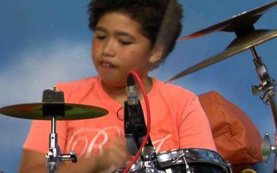 14-year-old drummer receives Barack Obama Lifetime Achievement Award