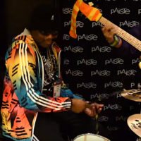 NAMM SHOW 2017: Daru Jones presents Paiste Cymbals