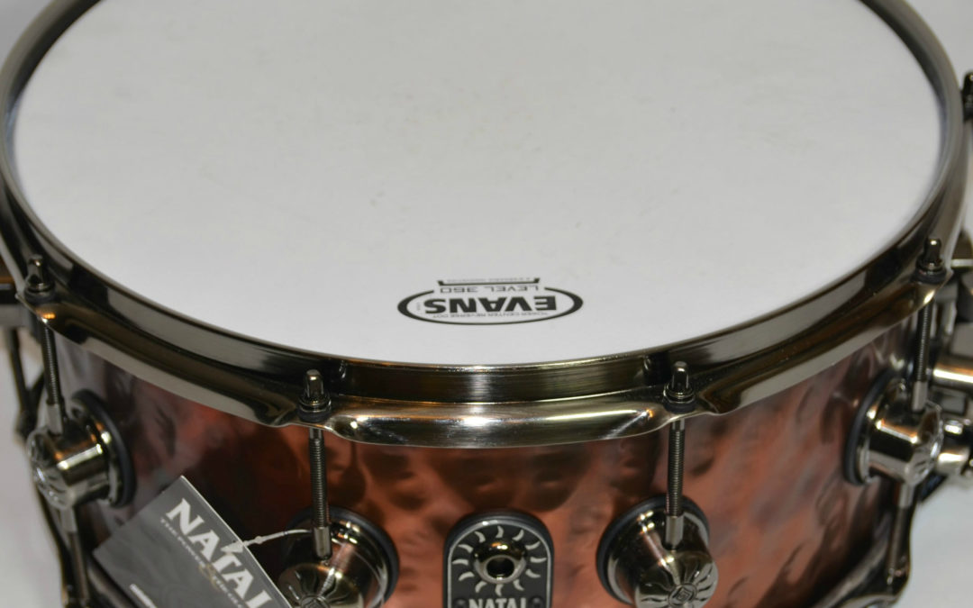 BeatIt Test: Natal Hand Hammered Old Bronze Snare Drum