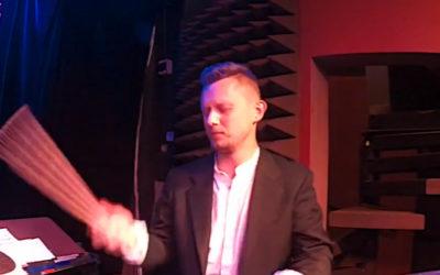 Robert Rasz & Marcin Łosik Trio - drum solo