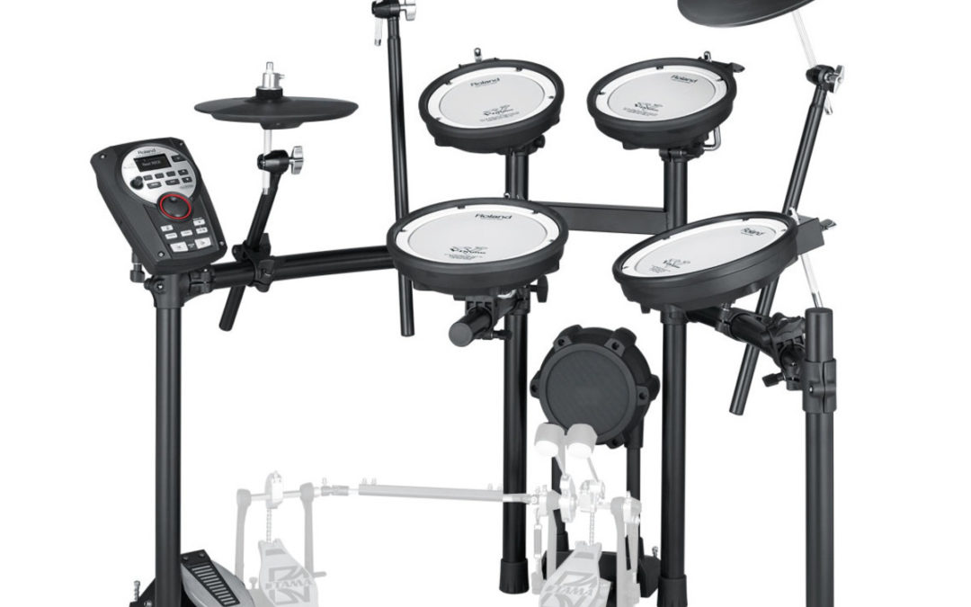 Possibilities included in the Roland TD-11KV kit