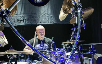 Uriah Heep i Russell Gilbrook in Poland