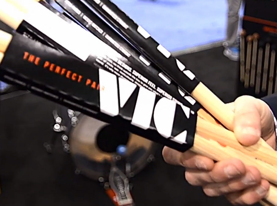 NAMM 2017: Vic Firth Booth