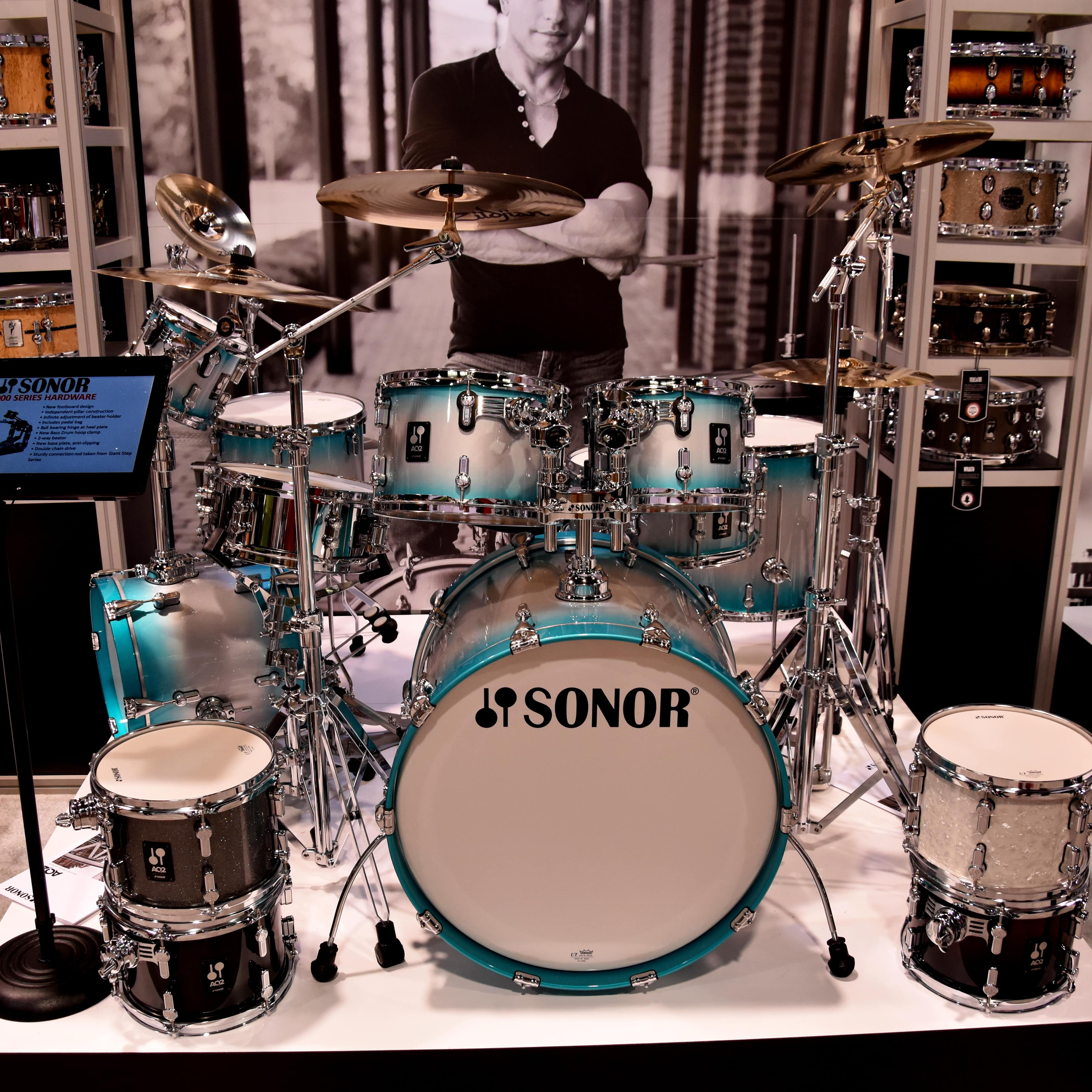 Sonor Booth at NAMM Show 2018