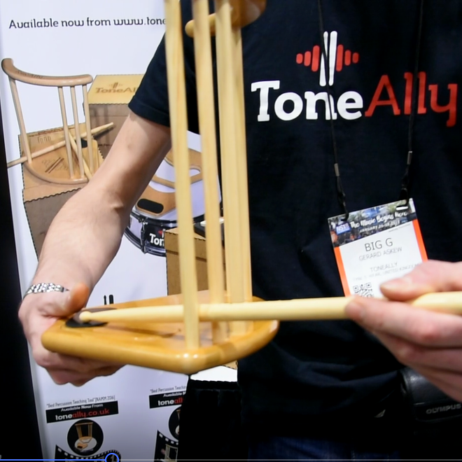 NAMM 2018: Tone Ally Booth