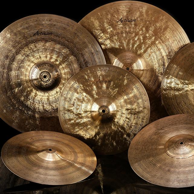 Gregg Bisonette presents Sabian Artisan Elite cymbals