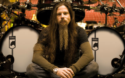 Lamb of God drummer Chris Adler is self-conscious about his drumming