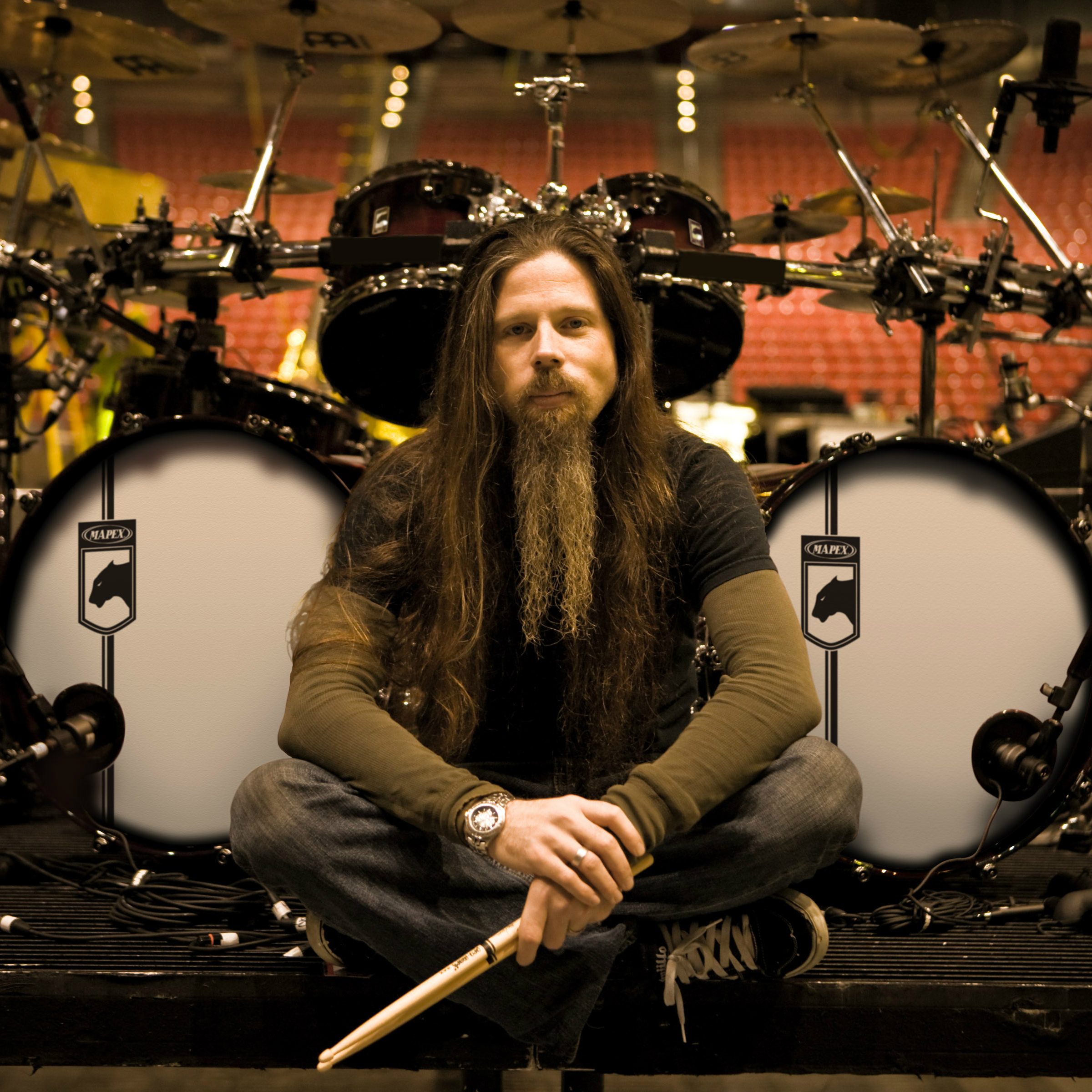 Lamb of God's Chris Adler is modest about his drumming skills