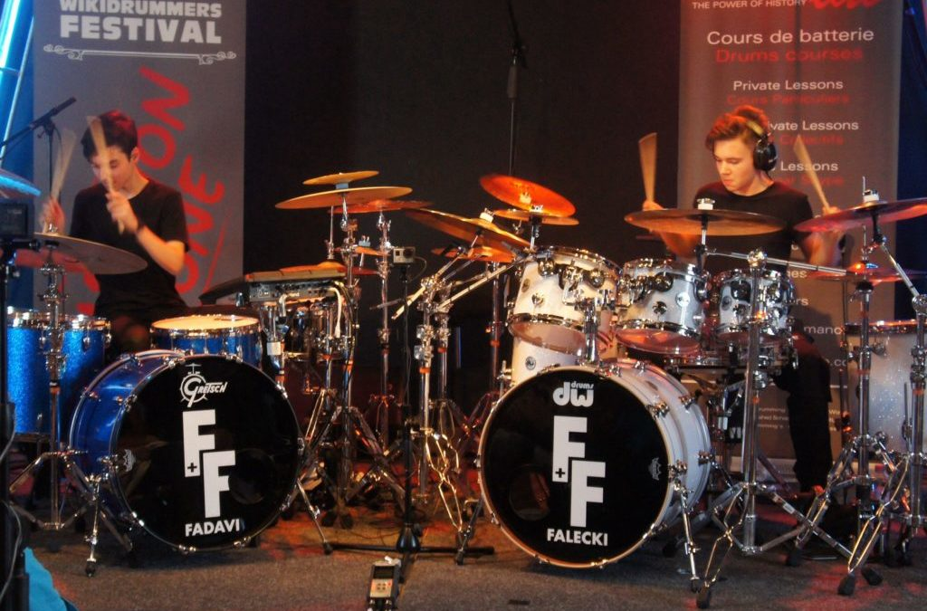 Antoine Fadavi and Igor Falecki on DrumChannel today