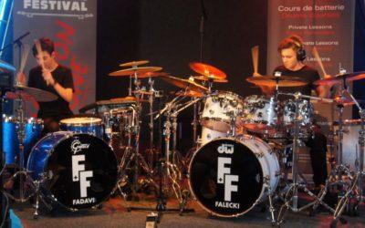 Antoine Fadavi and Igor Falecki on DrumChannel today