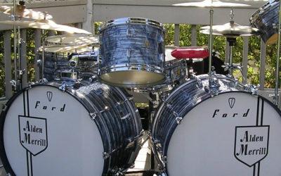 Hardware repair shop at Ford Drums