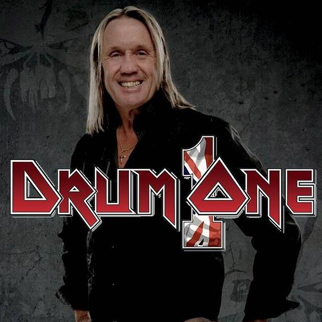 Nicko McBrain opens a drum store