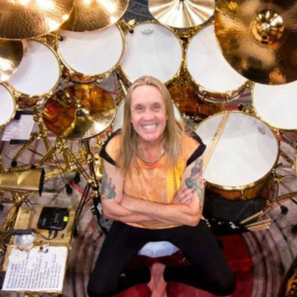 Nicko McBrain's Drum One store
