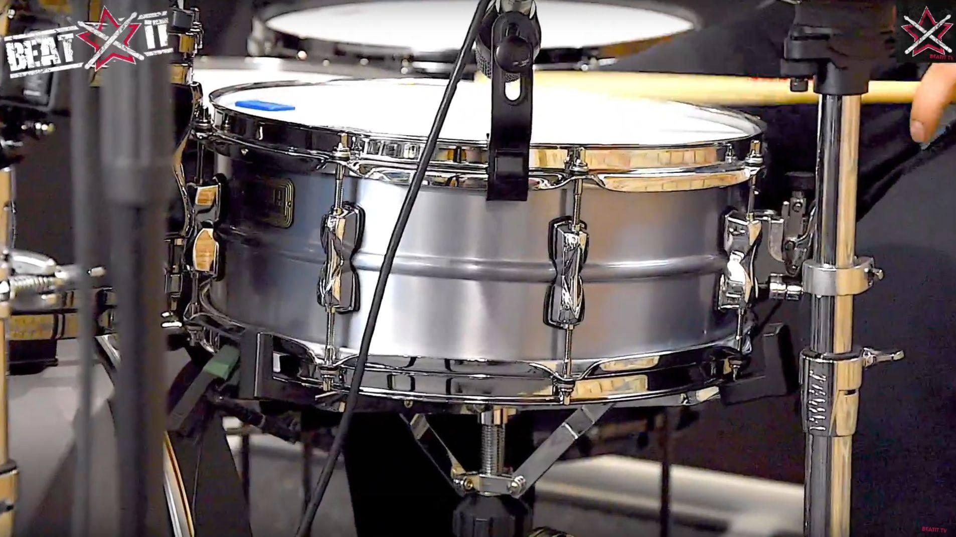 Tama S.L.P. Classic Aluminum snare en.beatit.tv