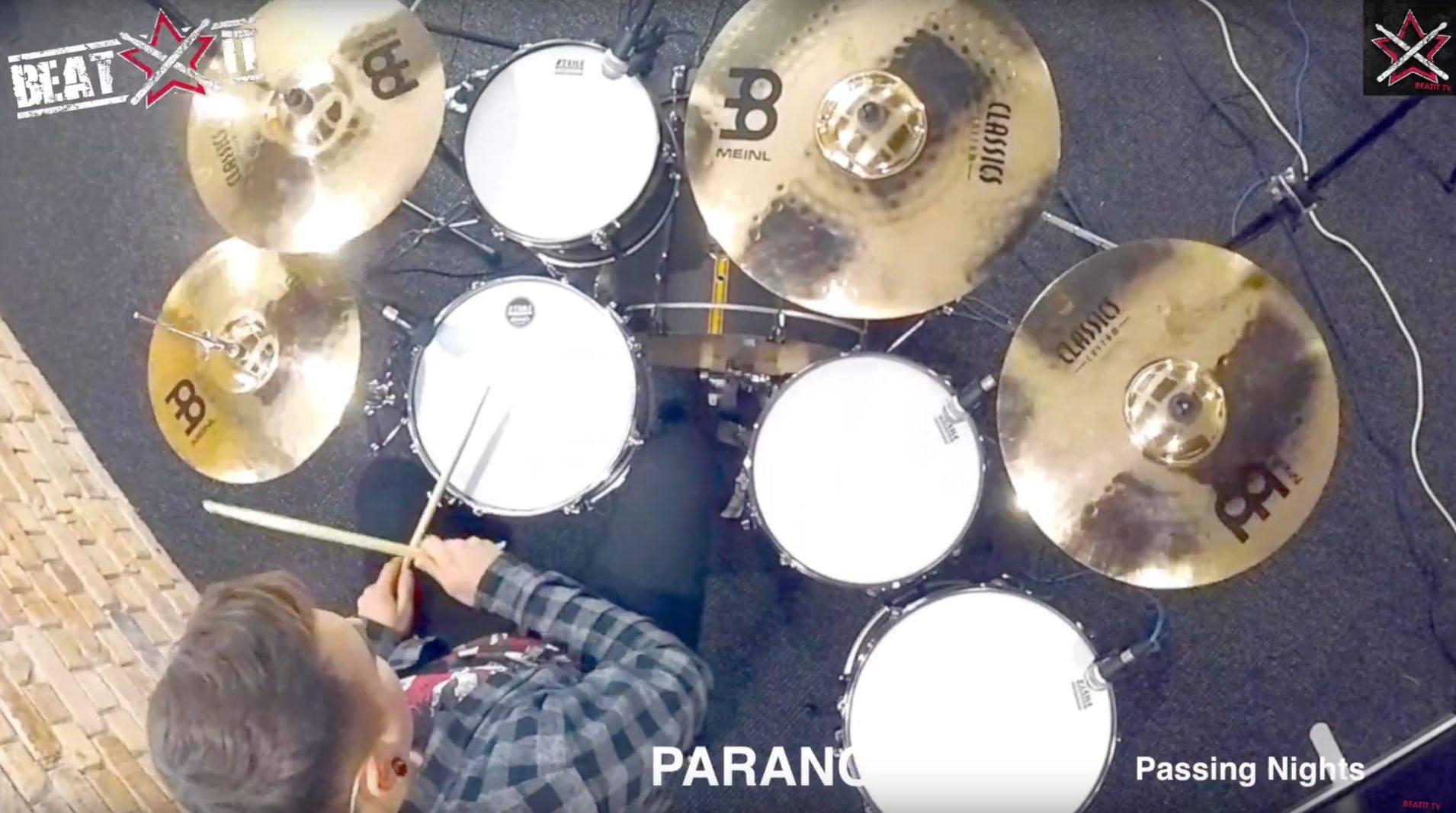 Meinl Classics Custom cymbal set tested by Jeremiasz Baum