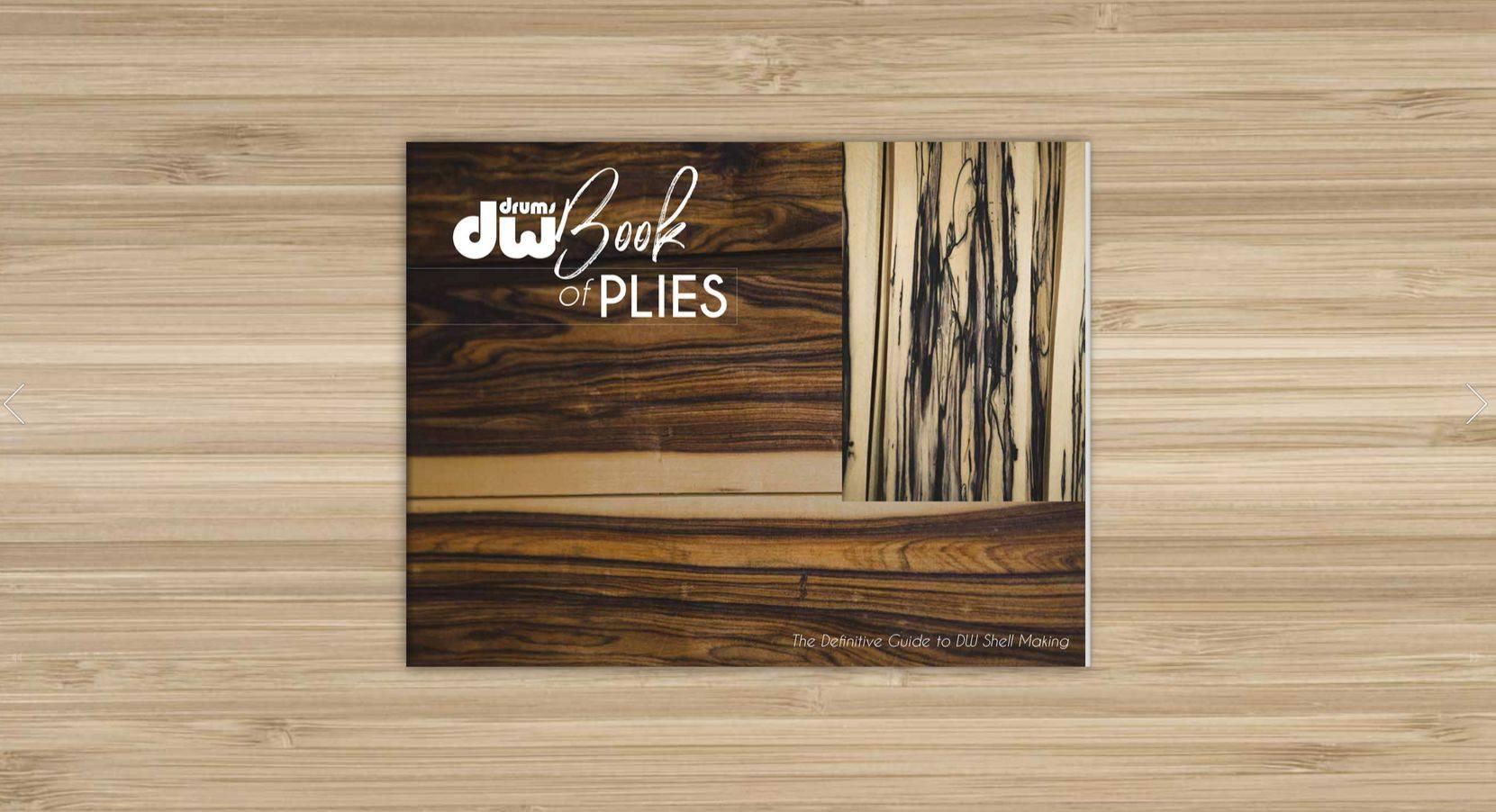 DW Drums, John Good, The Book Of Plies