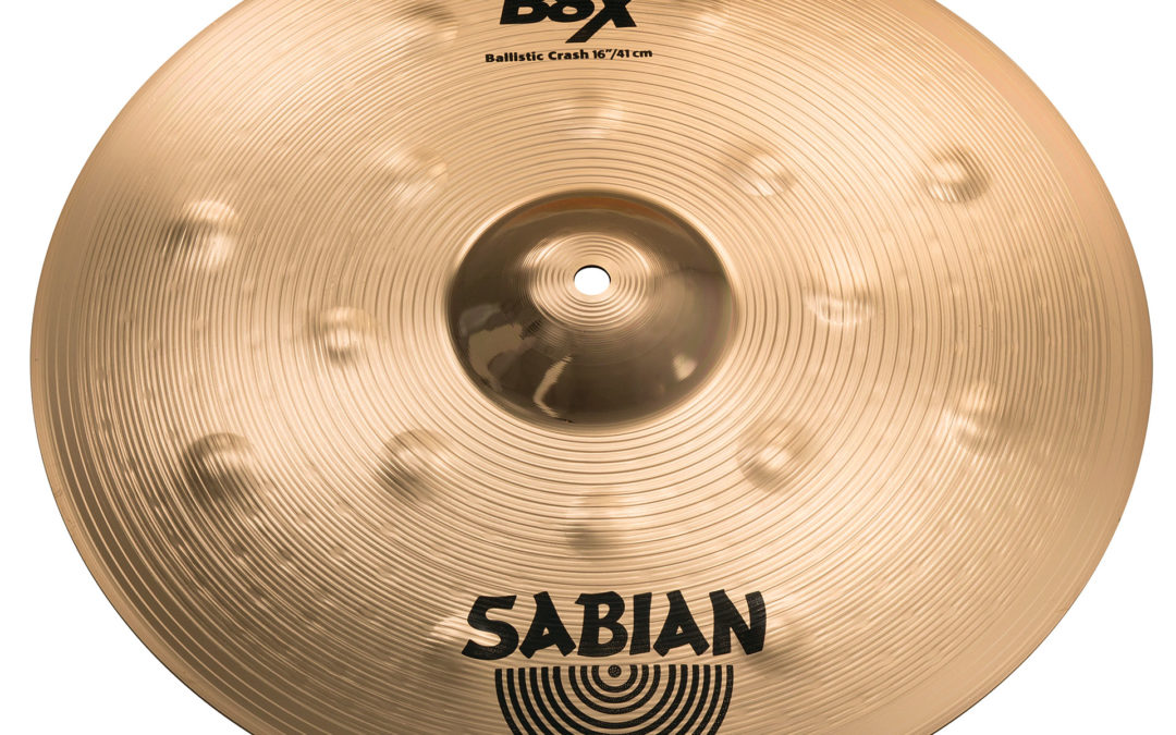 Sabian expand the B8X cymbal series