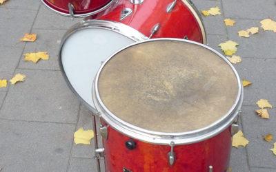 Museum piece: Szpaderski drum kit