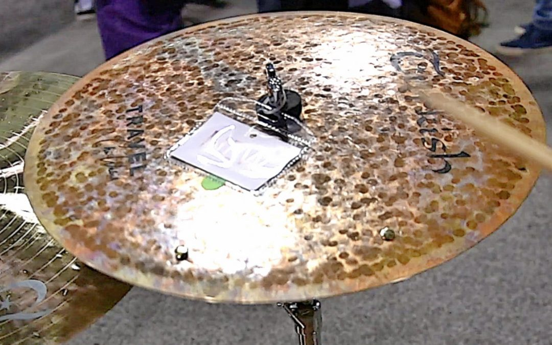 NAMM 2018: Turkish Cymbals booth