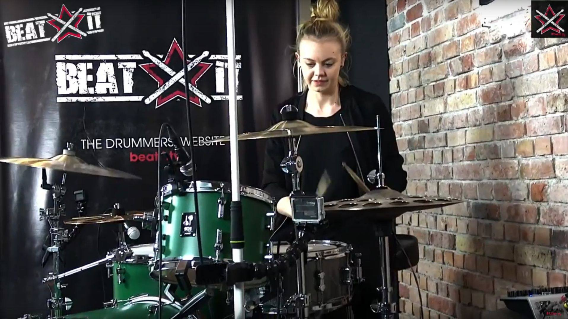 Roadster Green Sonor SQ1 Wiktoria Jakubowska