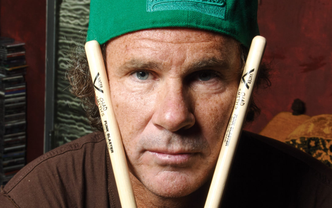 Chad Smith takes ALS Pepper Challenge