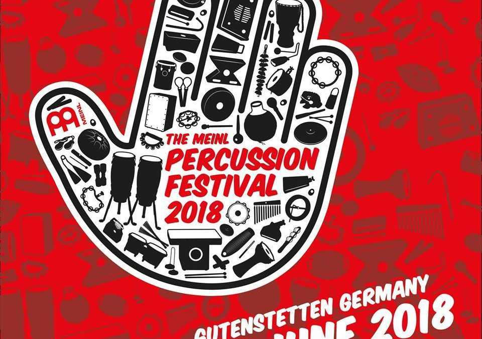 "Meinl Percussion Festival 2018: ""Djembe World"" workshop"