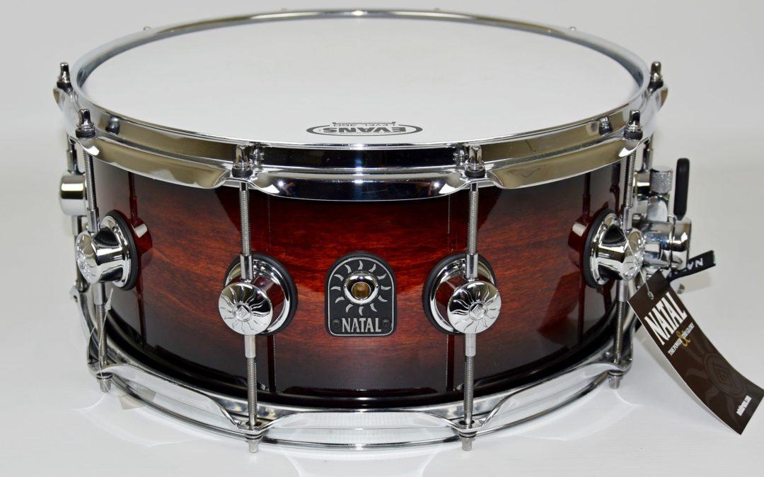 BeatIt Test: Natal Cafe Racer Exotic snare drum
