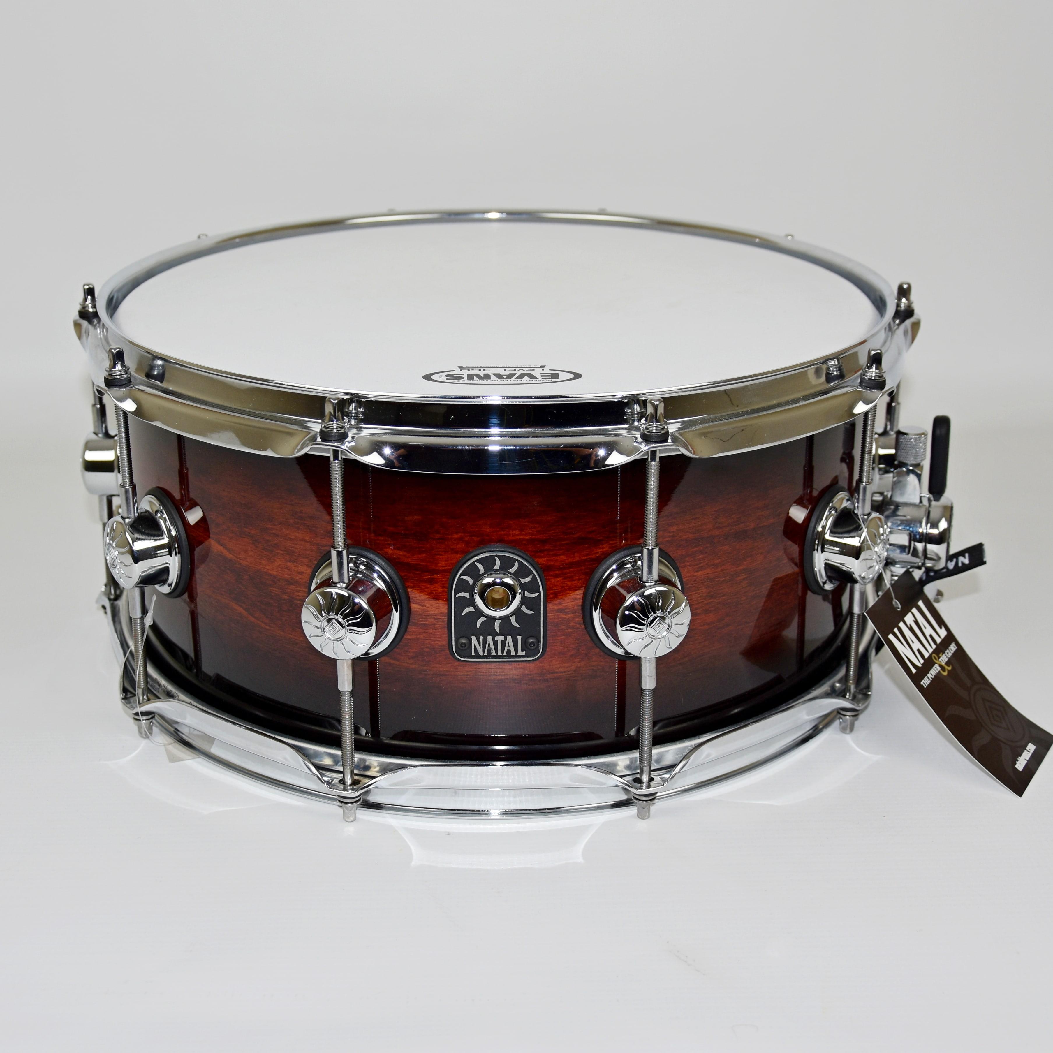 BeatIt Test: Natal Cafe Racer Exotic snare drum | Beatit.tv
