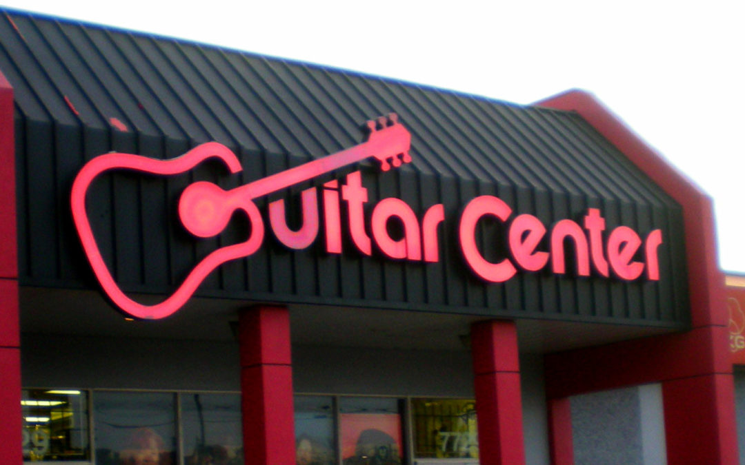 Chain of Guitar Center stores is struggling with $1 billion in debt
