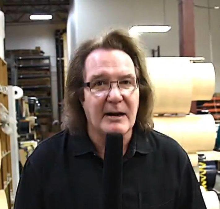 John Good gives BeatIt a tour of the DW factory