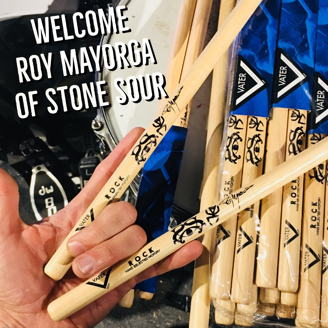 Roy Mayorga is a Vater Artist