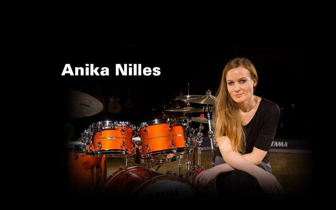 Anika Nilles presents her brand new Tama Star Bubinga kit