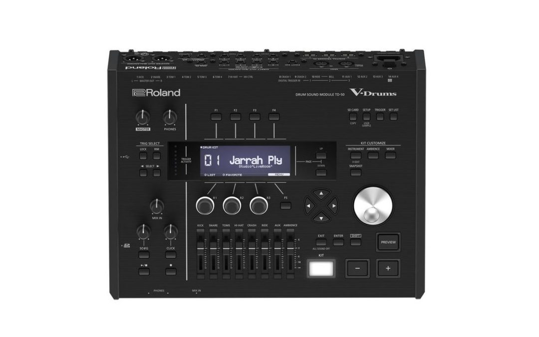 Roland launches new TD-50 V-Drums system version