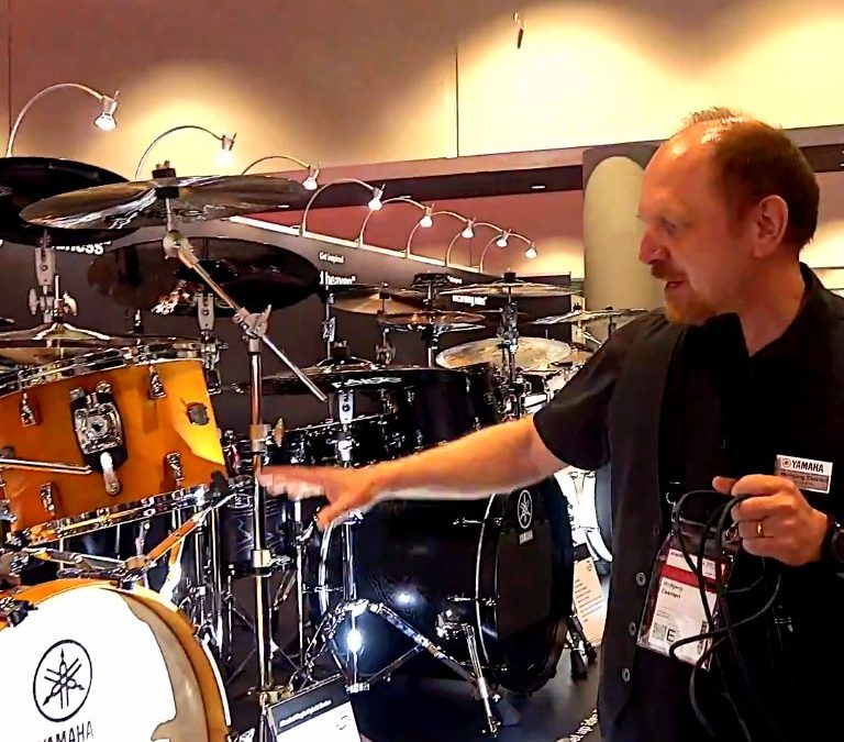 Musikmesse 2018: acoustic drums from Yamaha