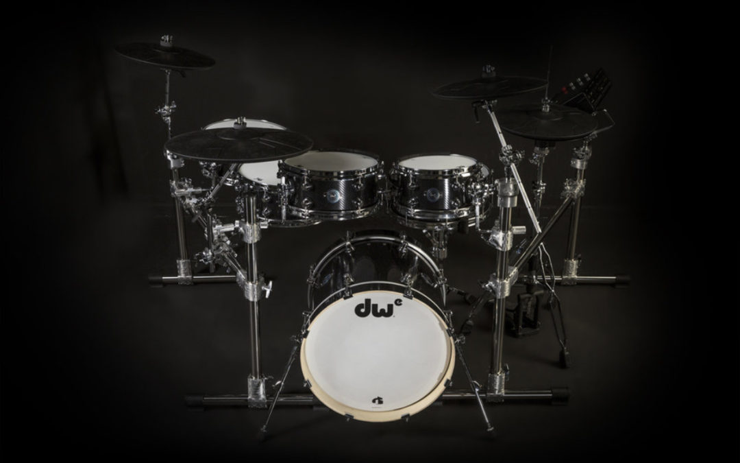 Musikmesse 2018: DWe electronic drum kit