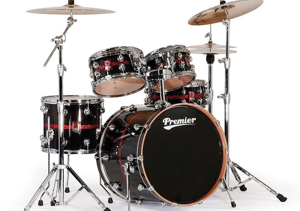 BeatIt Test: Premier Genista Drum Kit