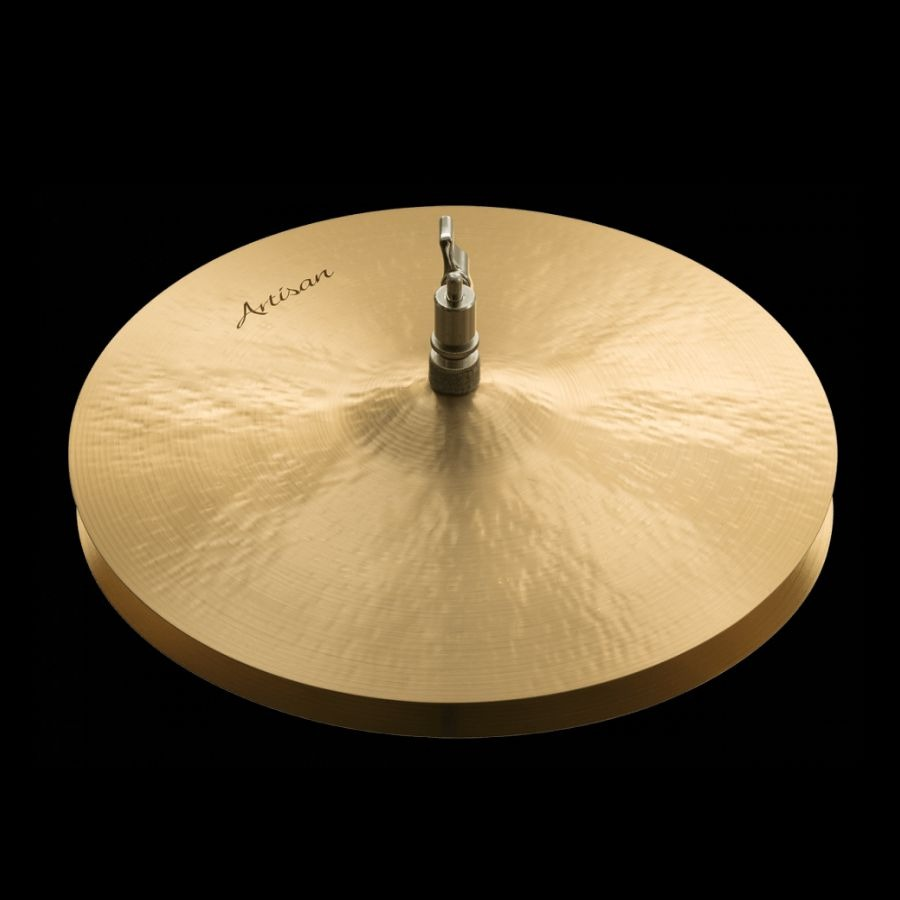 "14"" Sabian Artisan Light Hats test by en.beatit.tv (photo: sabian.com)"