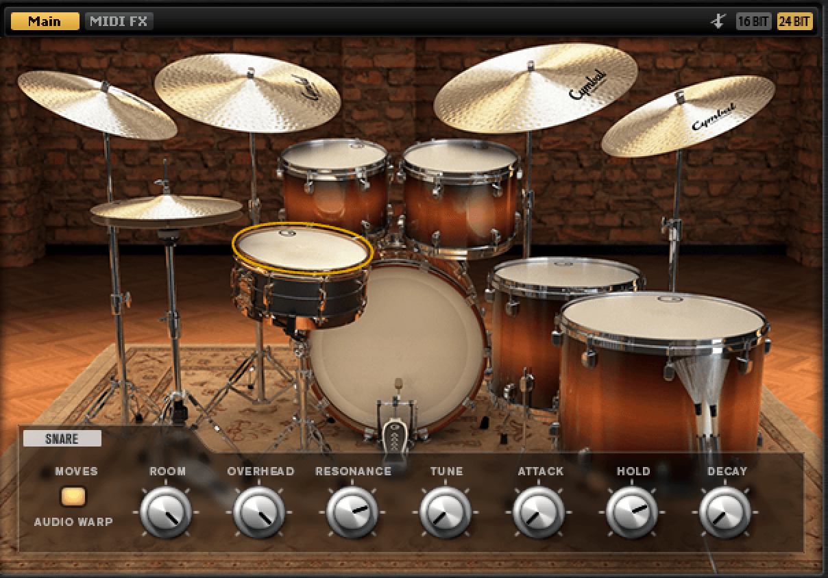 Steinberg: new jazz drum sound library by Simon Phillips