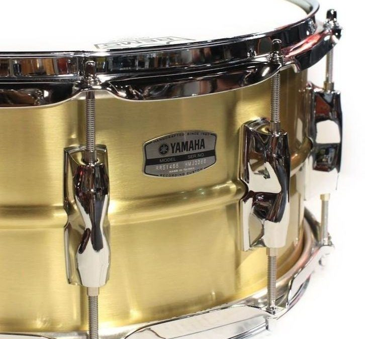 New brass Yamaha Recording Custom snare drums